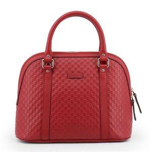 Gucci Medium Micro GG Guccissima Dome Satchel Bag